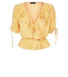Jane austen jaune top