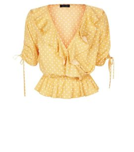 Jane austen jaune top