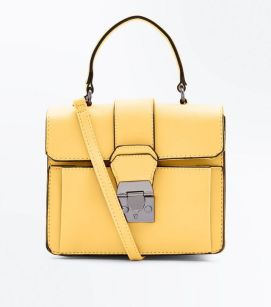 sac jaune new look