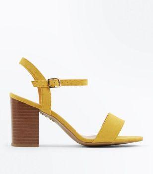 Sandales jaune