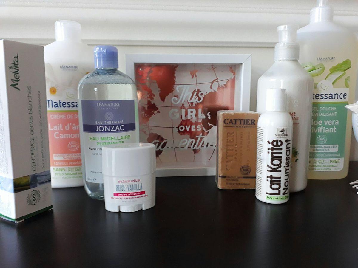 Haul #3 - Produits d'hygiène Bio